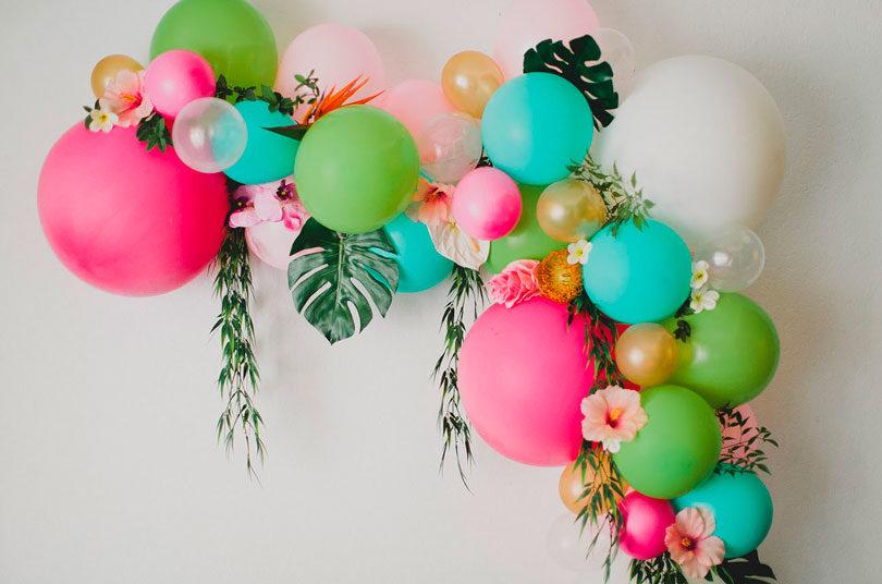 Decoração com balões como fazer