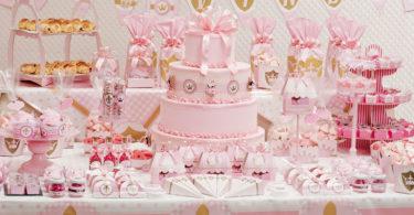 Decoração de aniversário infantil de menina