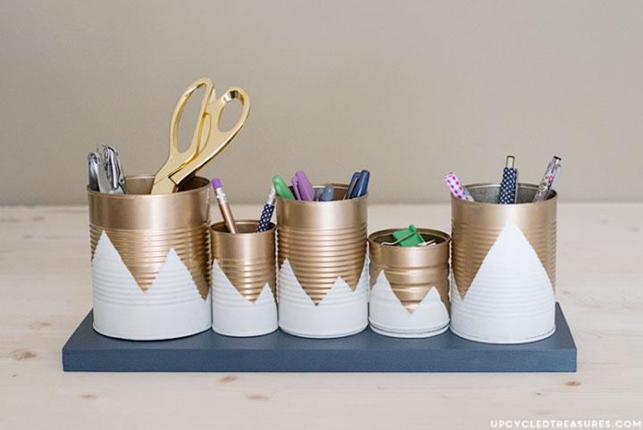 Ideias DIY para organização