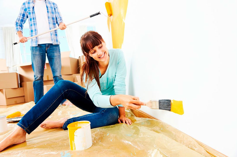 Renove sua casa pintando