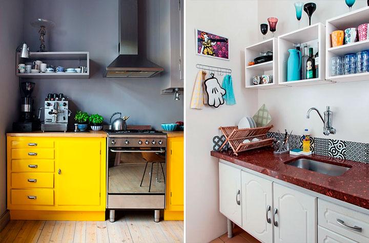 Decoração com nichos cozinha