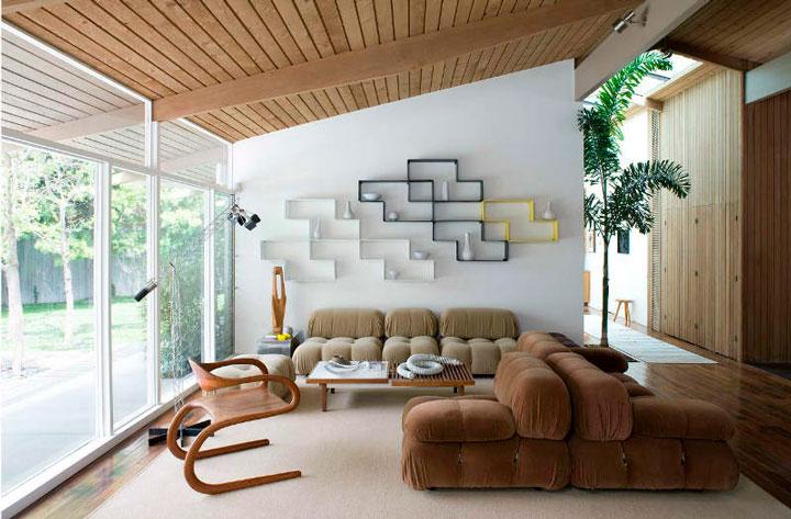 Sala com nichos