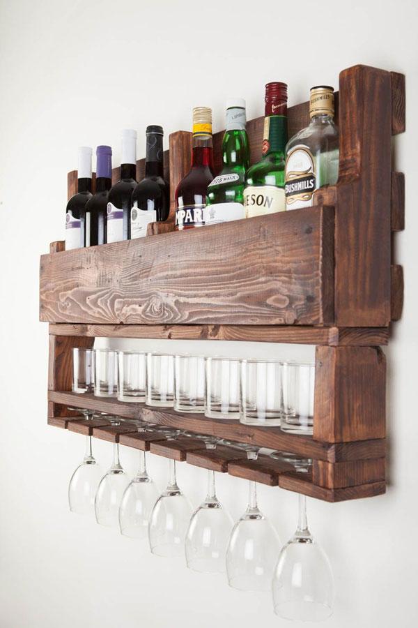 Bar-de-parede-feito-de-paletes