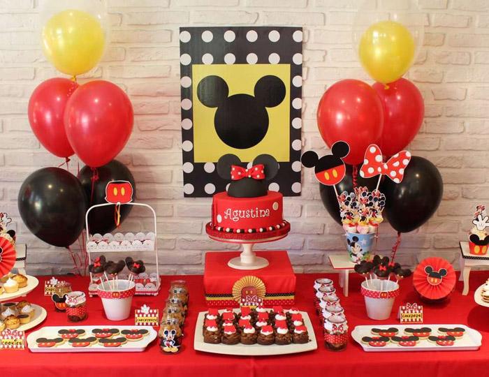 Decoração do Mickey