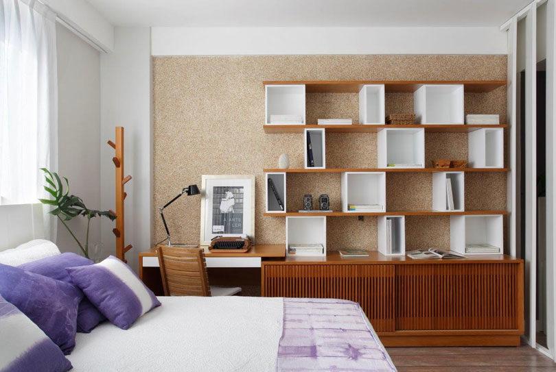 Estante para quartos