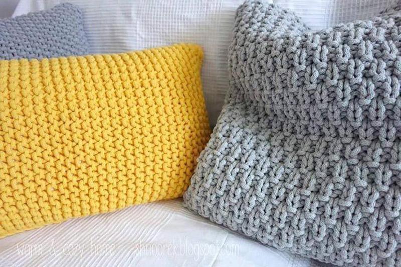 Almofadas de crochê