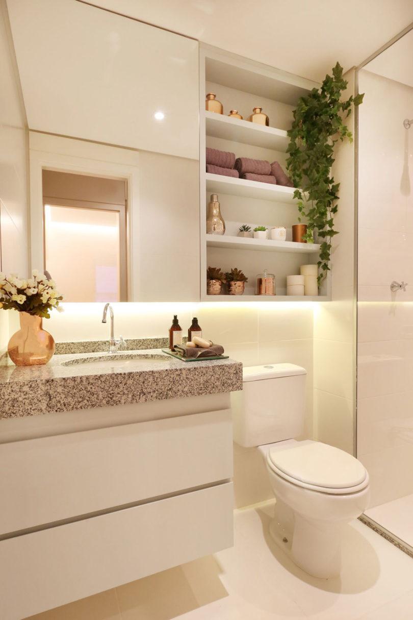 Decoração de banheiro estilo Pinterest
