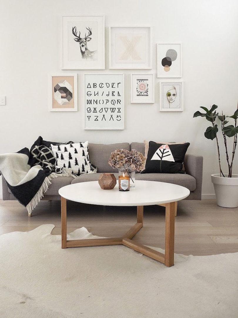 Decoração de sala estilo Pinterest
