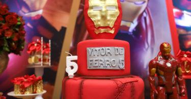 Decoração festa Iron Man