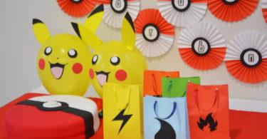 Decoração de festa Pokémon