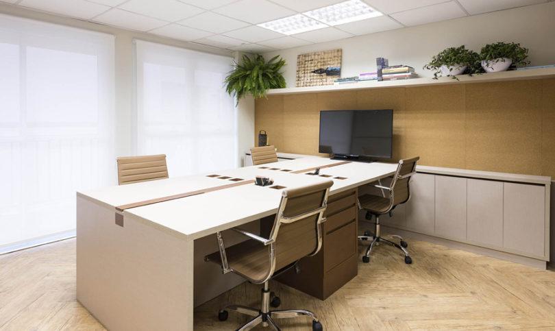 Decoração para escritório de contabilidade
