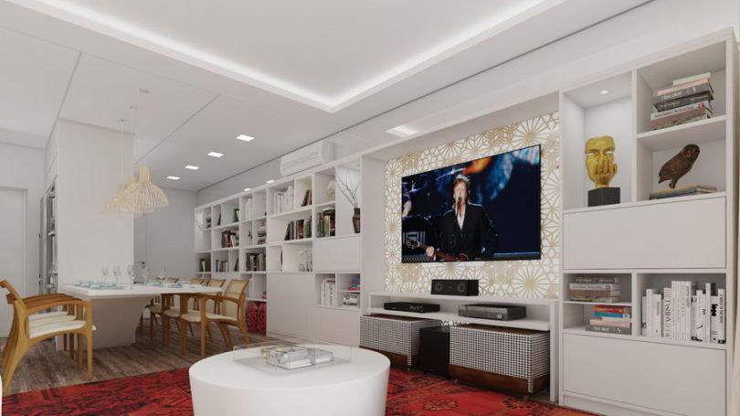 Decoração com home theater