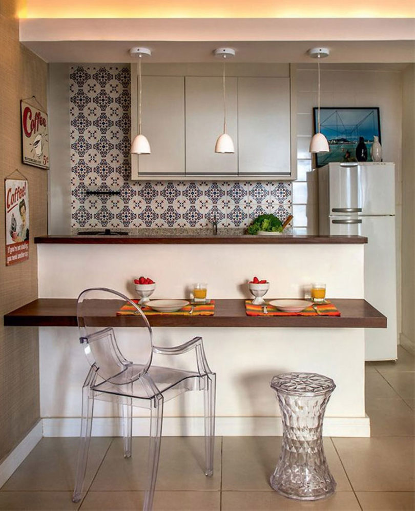 Decoração de cozinhas pequenas