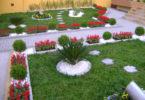Jardins com pedras decorativas