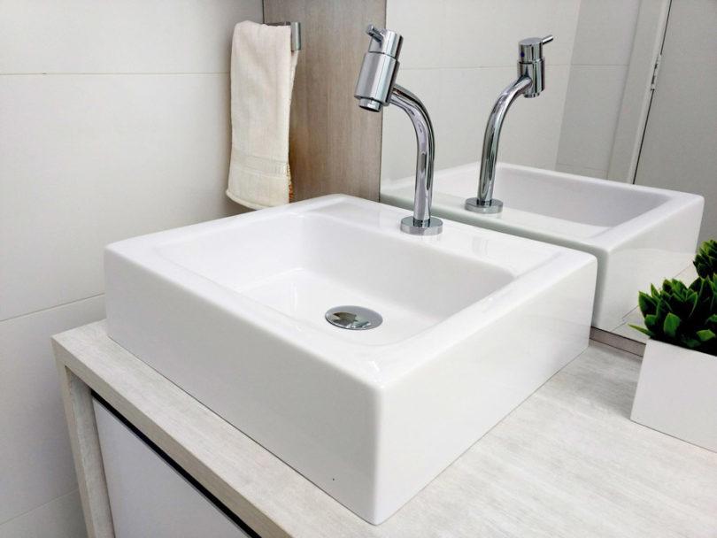 Cuba para banheiro