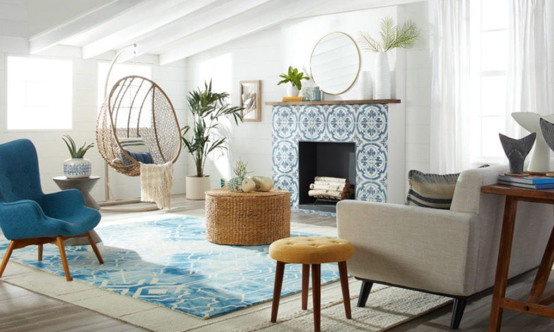 Decoração de casa de praia