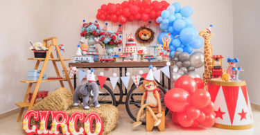 Decoração festa circo