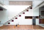 Escada sem beiral