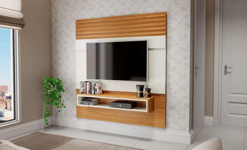 Decoração com painéis para TV