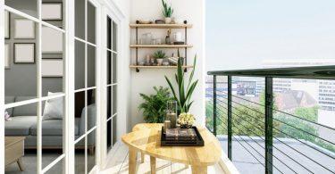 Como decorar uma varanda pequena
